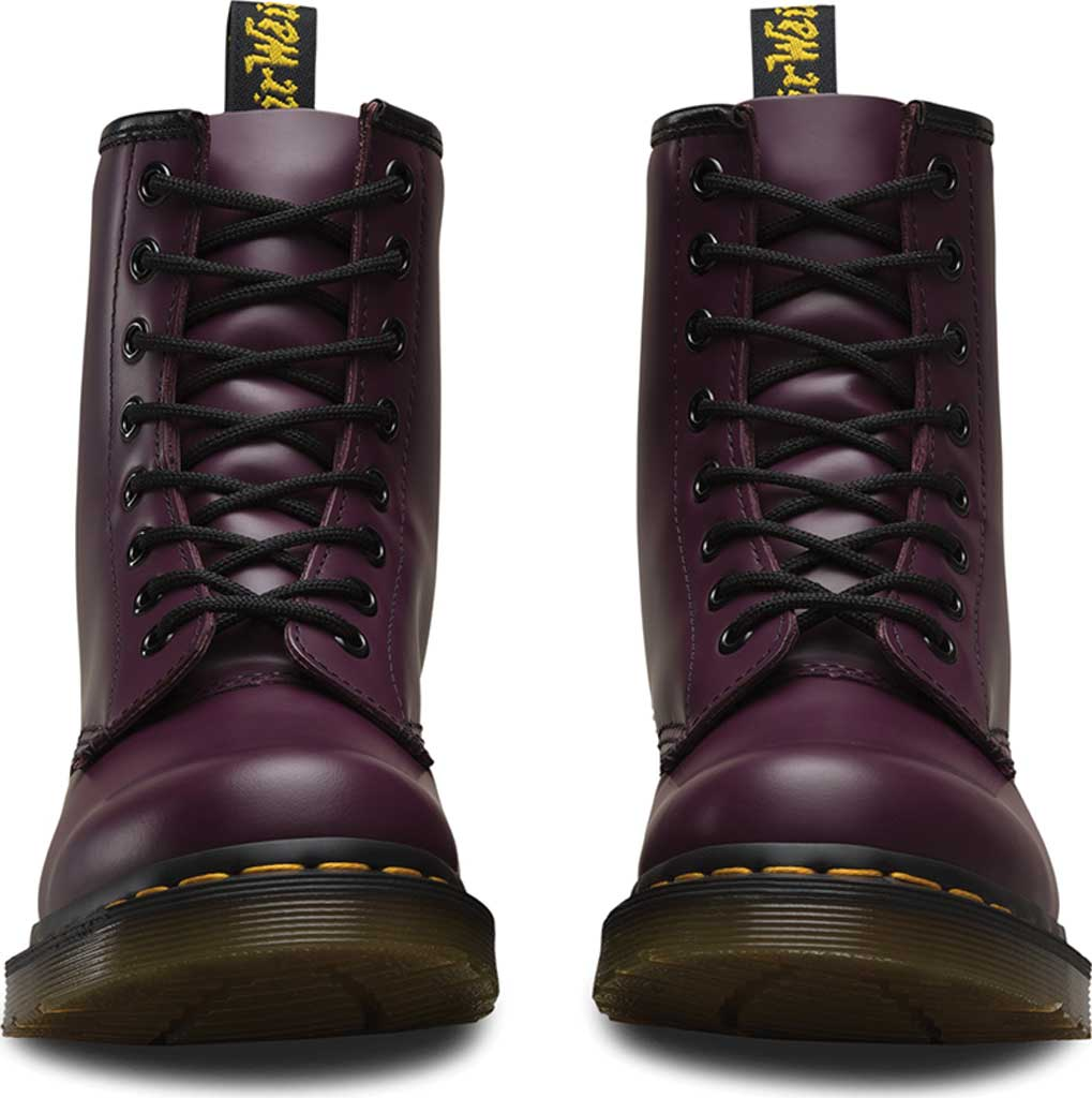 Women's Dr. Martens 1460 8-Eye Boot, Purple Smooth, large, image 4