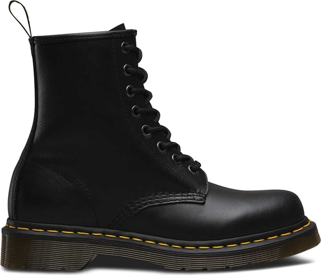 Women's Dr. Martens 1460 8-Eye Boot, Black Nappa, large, image 2