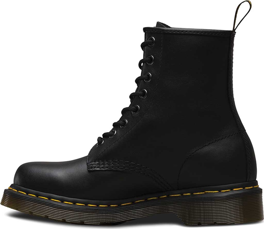 Women's Dr. Martens 1460 8-Eye Boot, Black Nappa, large, image 3