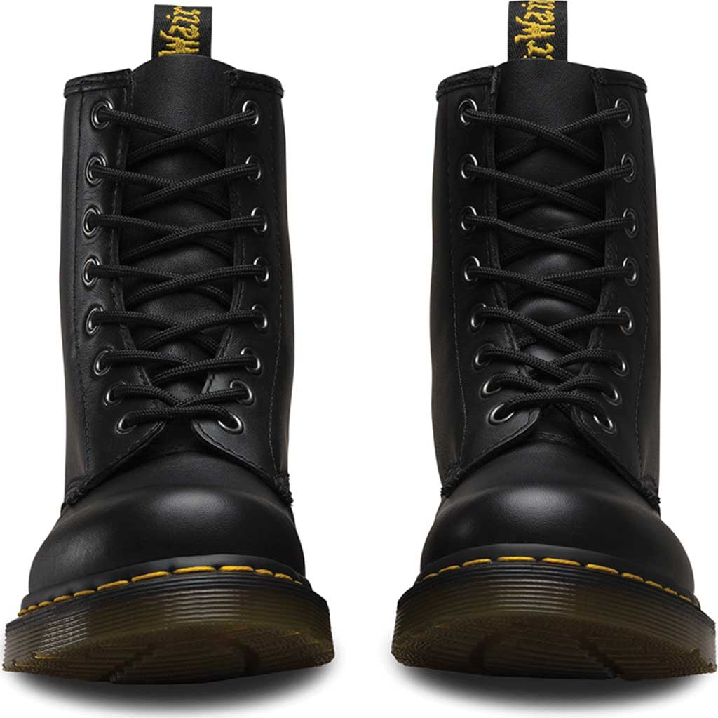 Women's Dr. Martens 1460 8-Eye Boot, Black Nappa, large, image 4