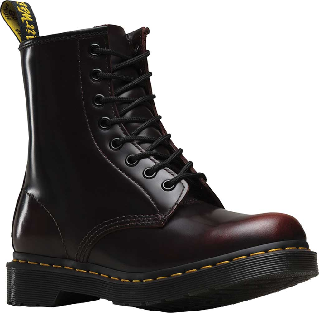 Women's Dr. Martens 1460 8-Eye Boot, Cherry Red Arcadia, large, image 1