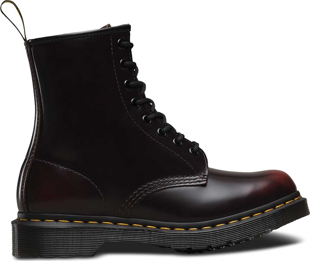 Women's Dr. Martens 1460 8-Eye Boot, Cherry Red Arcadia, large, image 2