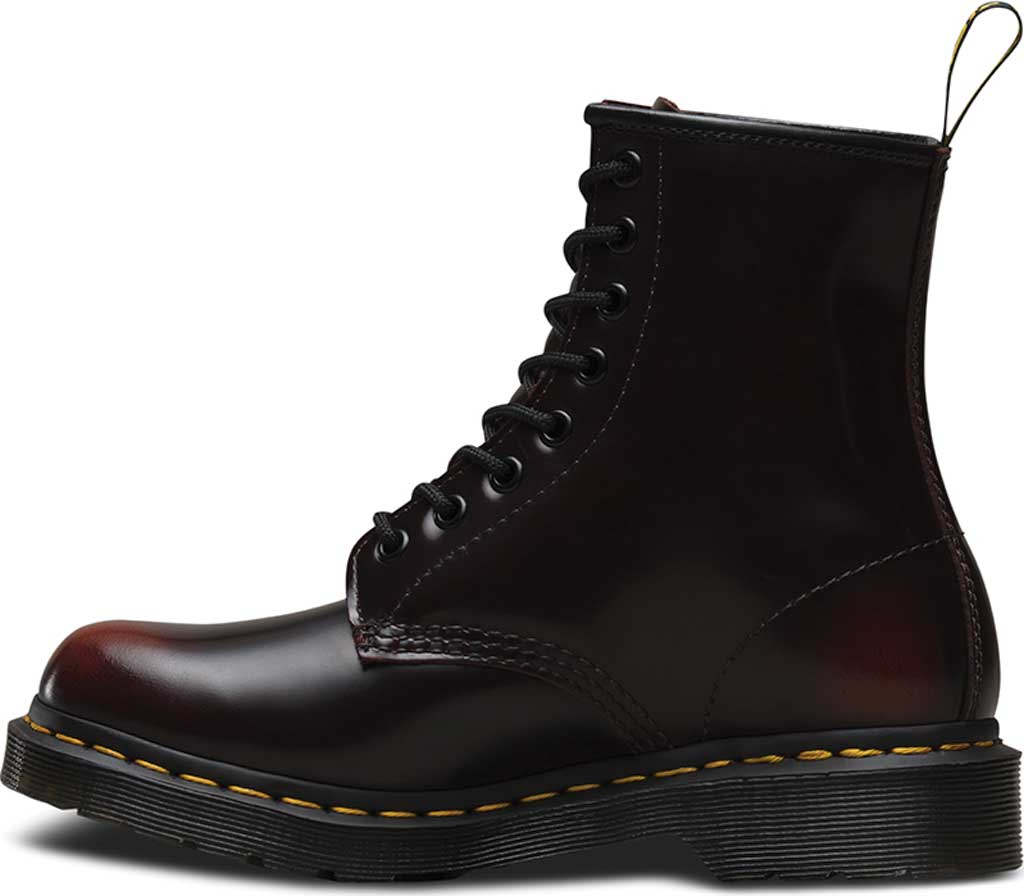 Women's Dr. Martens 1460 8-Eye Boot, Cherry Red Arcadia, large, image 3