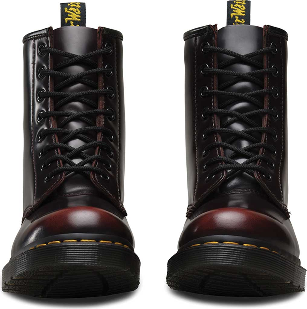 Women's Dr. Martens 1460 8-Eye Boot, Cherry Red Arcadia, large, image 4