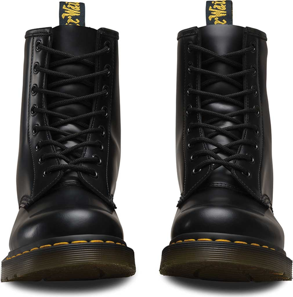 Women's Dr. Martens 1460 8-Eye Boot, Black Smooth, large, image 4