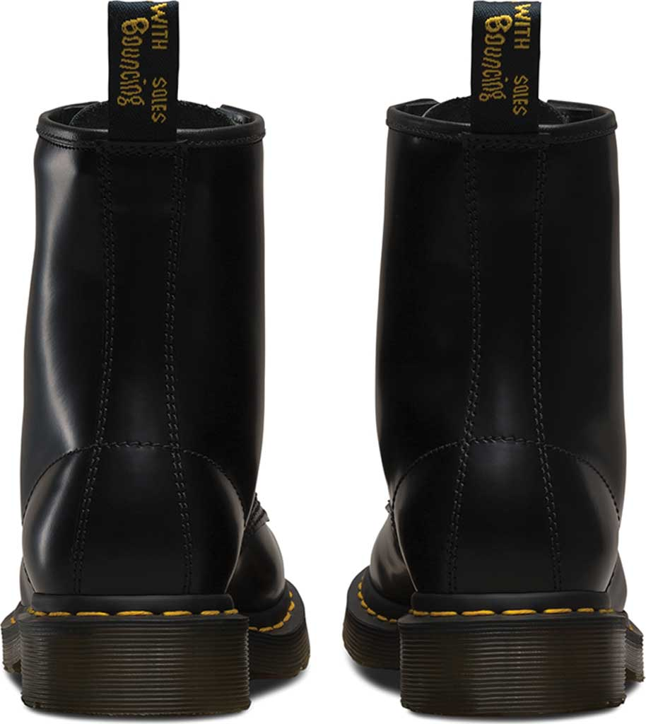 Women's Dr. Martens 1460 8-Eye Boot W, Black Smooth, large, image 5