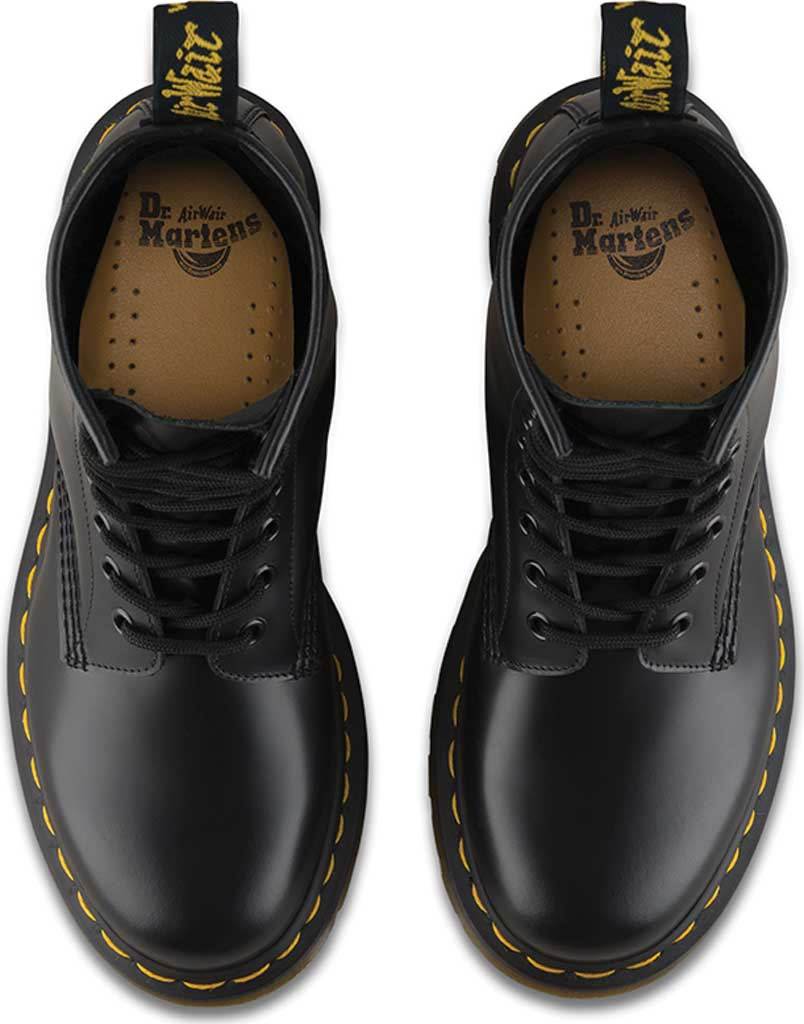 Women's Dr. Martens 1460 8-Eye Boot W, Black Smooth, large, image 6