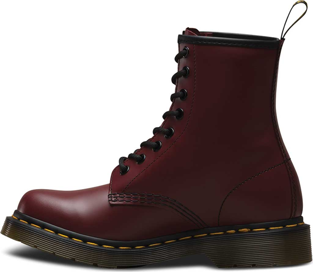 Women's Dr. Martens 1460 8-Eye Boot W, Cherry Red Smooth, large, image 3