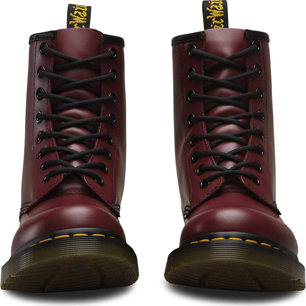 Women's Dr. Martens 1460 8-Eye Boot W, Cherry Red Smooth, large, image 4