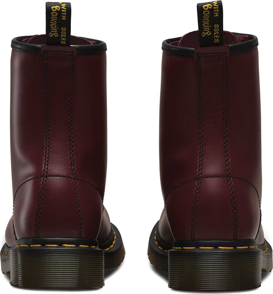 Women's Dr. Martens 1460 8-Eye Boot W, Cherry Red Smooth, large, image 5