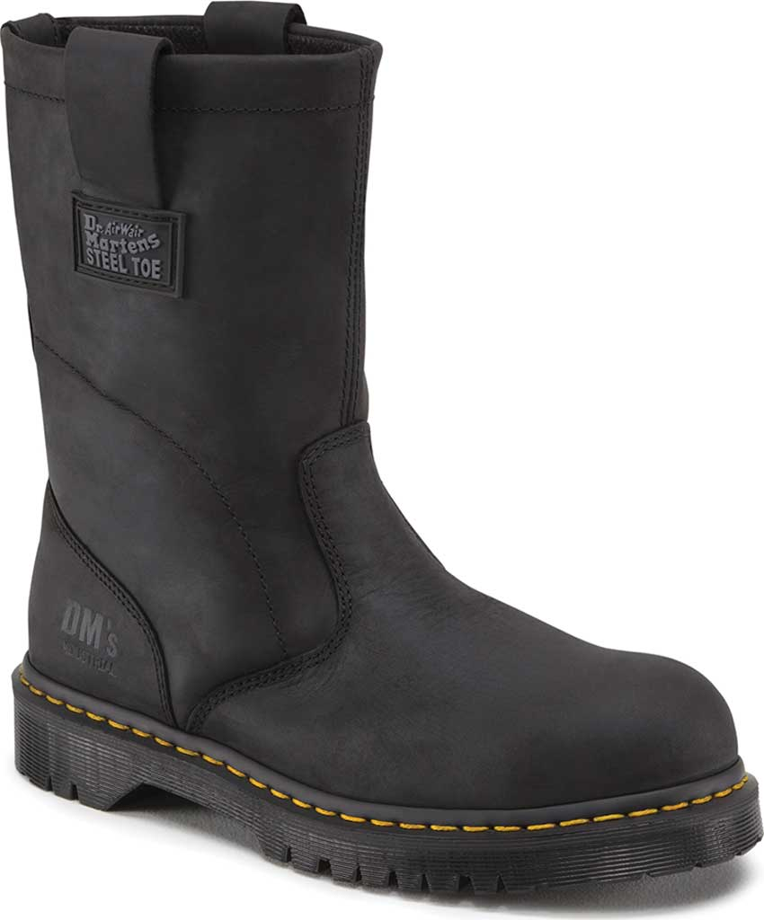 Dr. Martens Work ICON 2295 SBF, Black Industrial Greasy, large, image 1