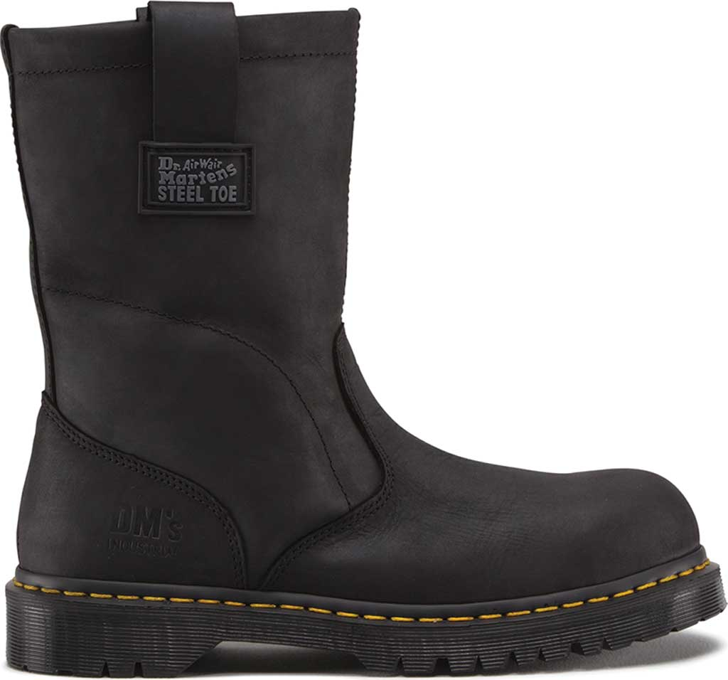 Dr. Martens Work ICON 2295 SBF, Black Industrial Greasy, large, image 2