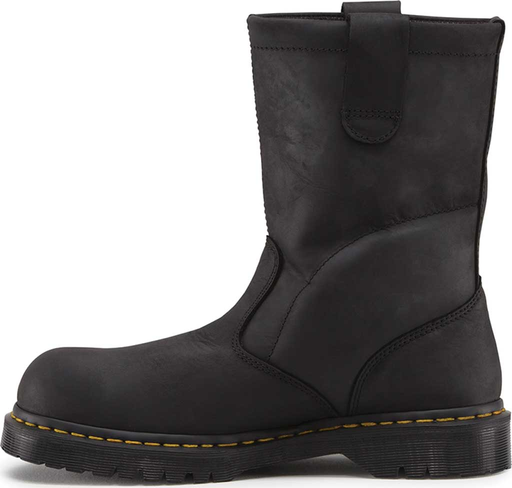 Dr. Martens Work ICON 2295 SBF, Black Industrial Greasy, large, image 3