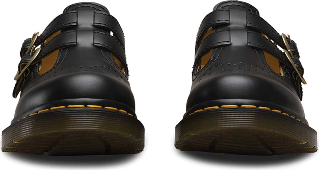 Women's Dr. Martens 8065 Double Strap Mary Jane DML, Black Smooth, large, image 4