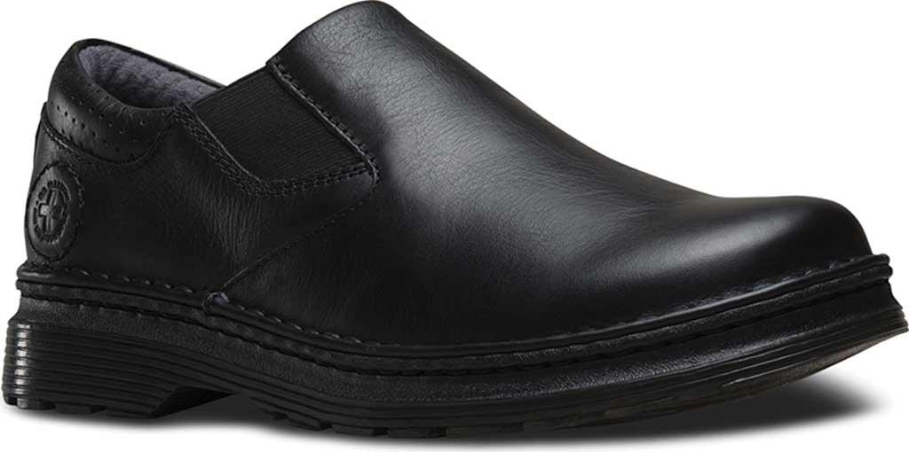 Men's Dr. Martens Robson Orson Plain Toe Slip On Shoe, Black Overdrive, large, image 1