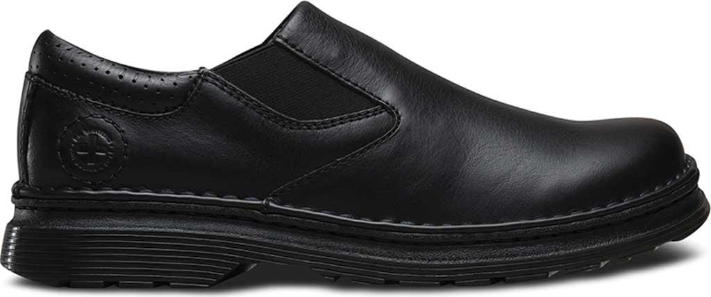 Men's Dr. Martens Robson Orson Plain Toe Slip On Shoe, Black Overdrive, large, image 2