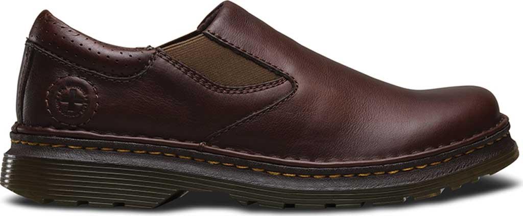 Dr Martens Orson Loafer Romeo Shoes Brown Leather Mens Sz 10 Slip On 43EUR