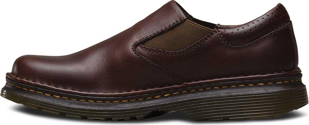 Men's Dr. Martens Robson Orson Plain Toe Slip On Shoe, Dark Brown Overdrive, large, image 3