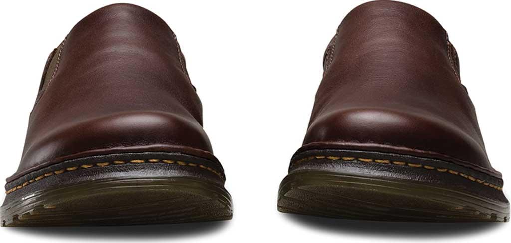 Men's Dr. Martens Robson Orson Plain Toe Slip On Shoe, Dark Brown Overdrive, large, image 4