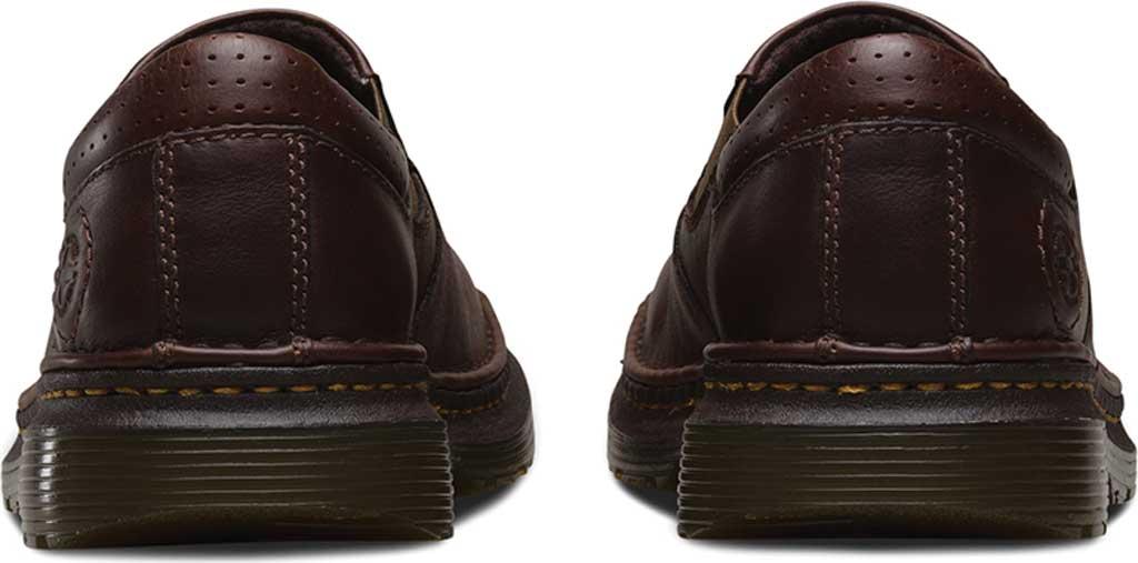 Men's Dr. Martens Robson Orson Plain Toe Slip On Shoe, Dark Brown Overdrive, large, image 5