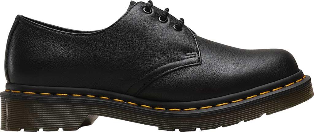 Women's Dr. Martens 1461 3-Eye Shoe, Black Virginia Standard, large, image 2