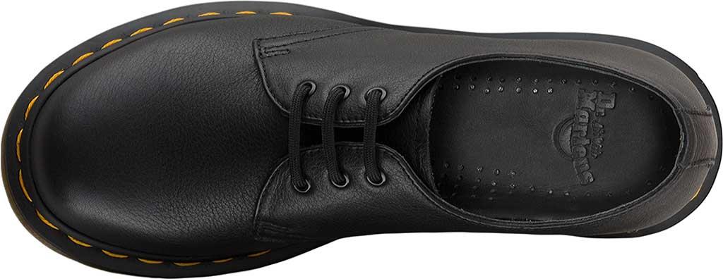 Women's Dr. Martens 1461 3-Eye Shoe, Black Virginia Standard, large, image 4