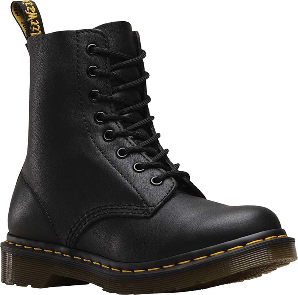 Dr. Martens Pascal 8-Eye Boot, Black Virginia, large, image 1