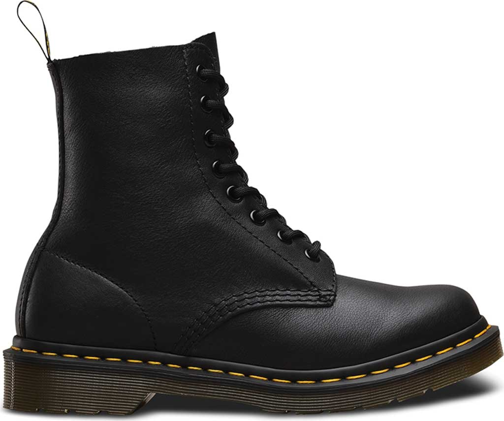 Dr. Martens Pascal 8-Eye Boot, Black Virginia, large, image 2