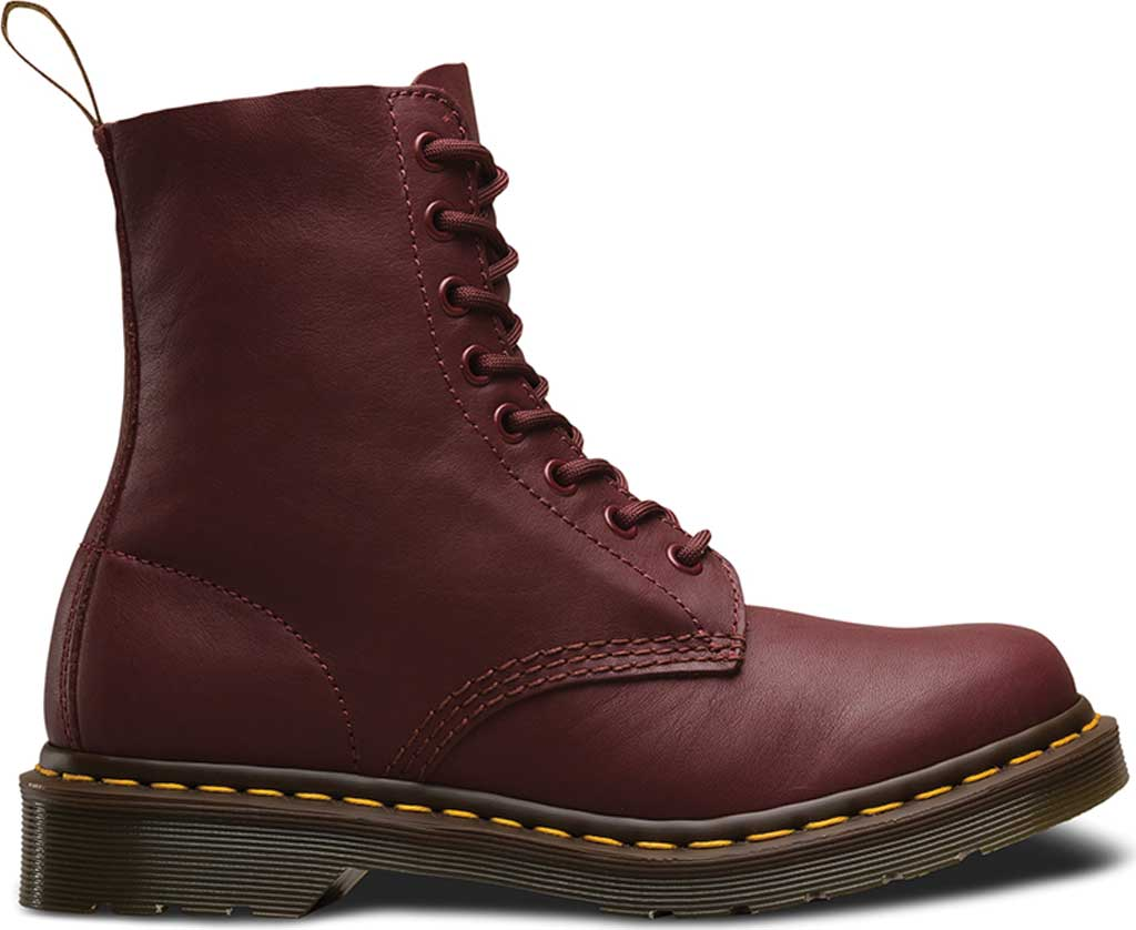 Dr. Martens Pascal 8-Eye Boot, Cherry Red Virginia, large, image 2