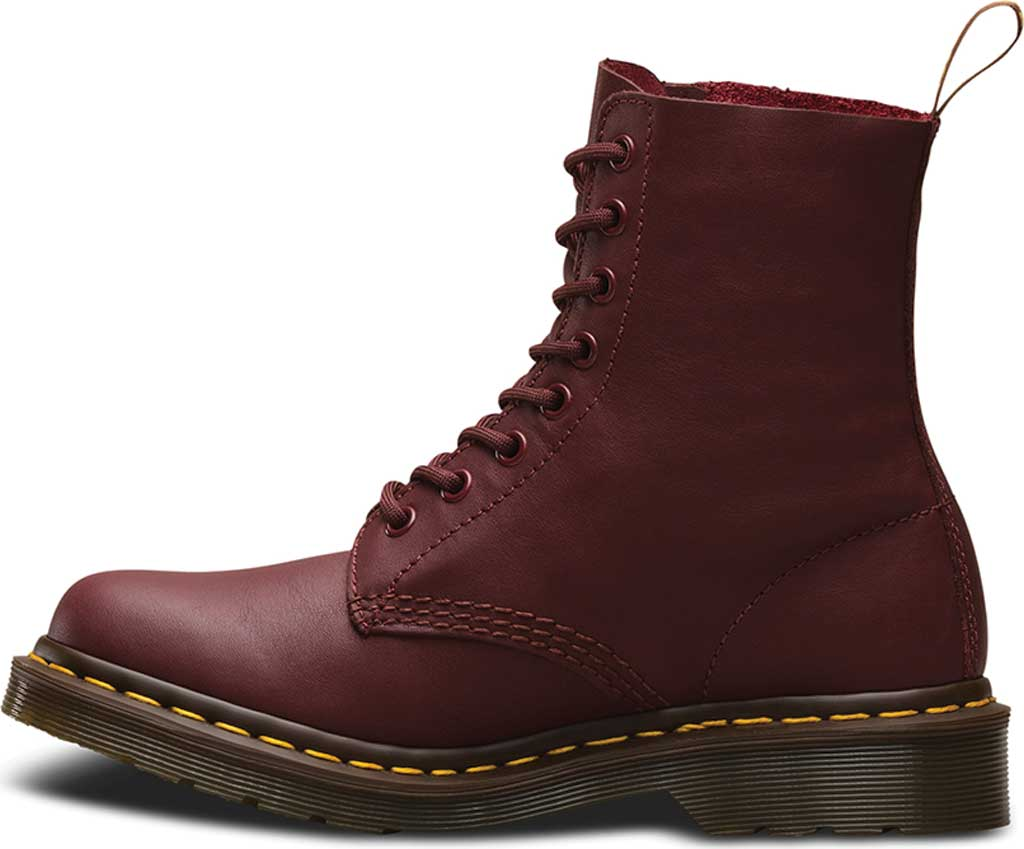 Dr. Martens Pascal 8-Eye Boot, Cherry Red Virginia, large, image 3
