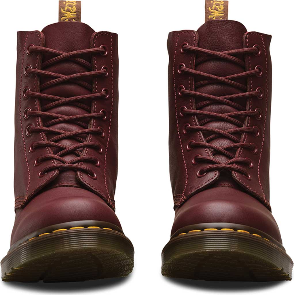 Dr. Martens Pascal 8-Eye Boot, Cherry Red Virginia, large, image 4