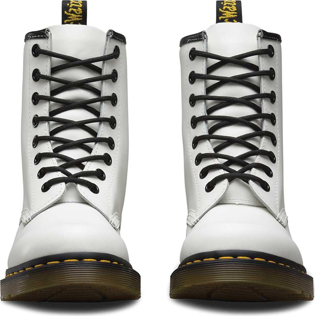 Dr. Martens 1460 8-Eye Boot, White Smooth, large, image 4