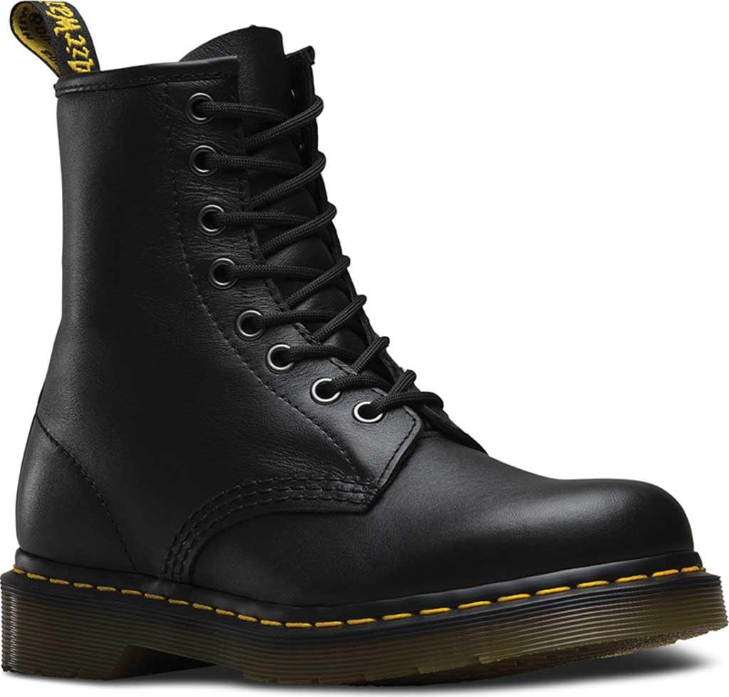 Dr. Martens 1460 8-Eye Boot, Black Nappa, large, image 1