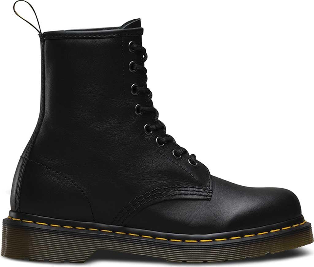 Dr. Martens 1460 8-Eye Boot, Black Nappa, large, image 2