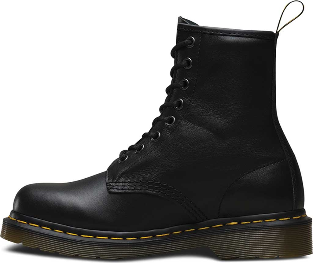 Dr. Martens 1460 8-Eye Boot, Black Nappa, large, image 3