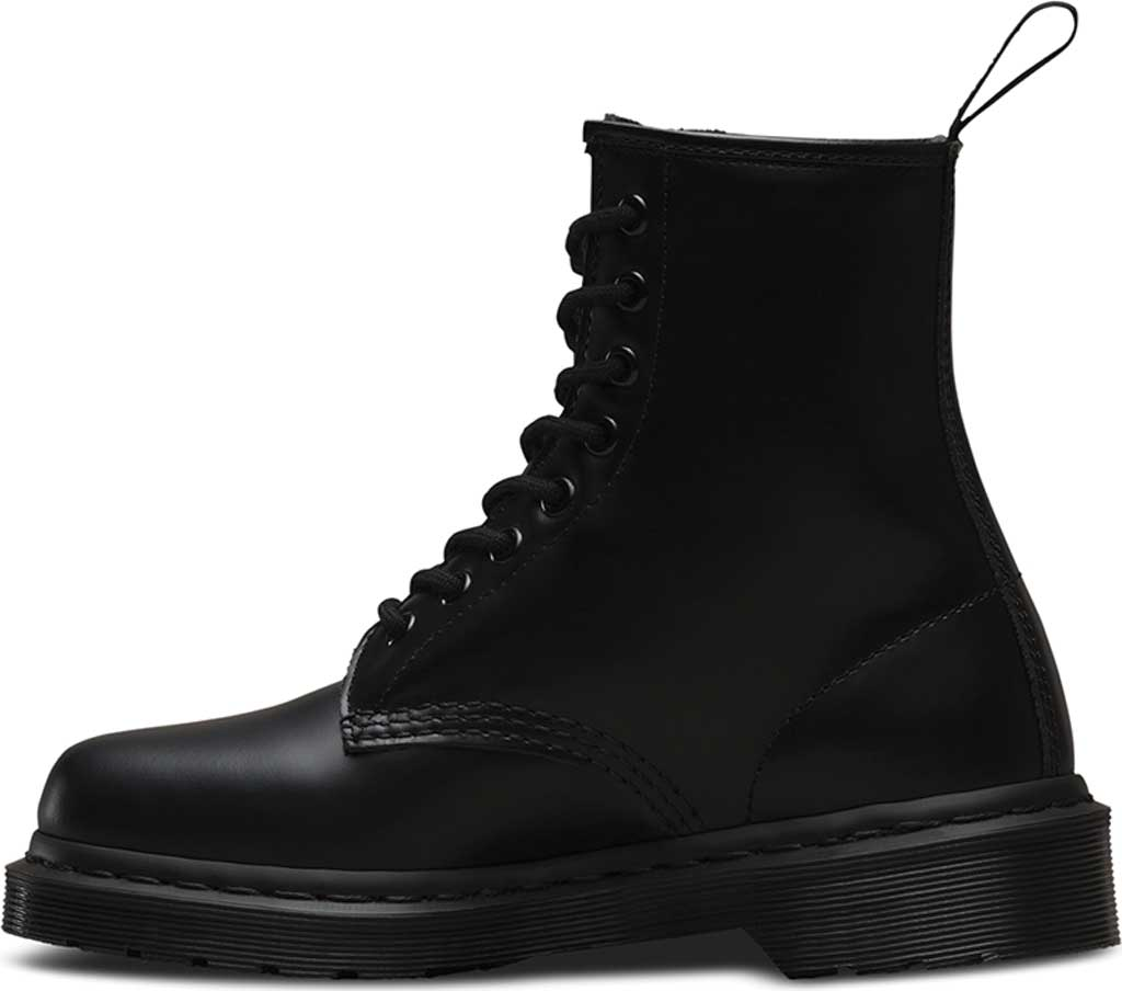 Dr. Martens 1460 8-Eye Boot, Black Smooth Mono, large, image 3