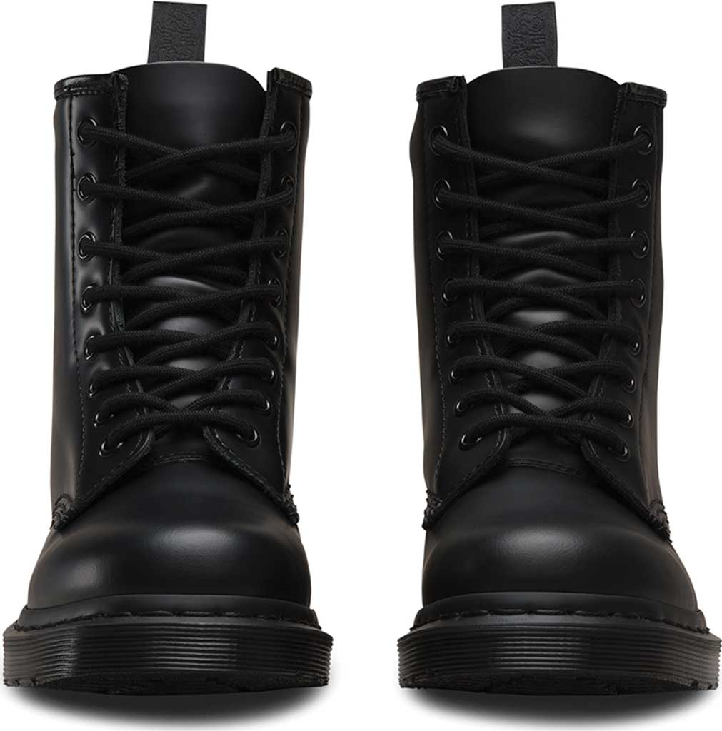 Dr. Martens 1460 8-Eye Boot, Black Smooth Mono, large, image 4