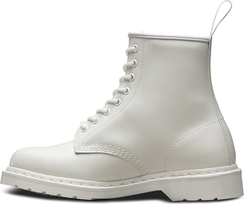 Dr. Martens 1460 8-Eye Boot, White Smooth Mono, large, image 3