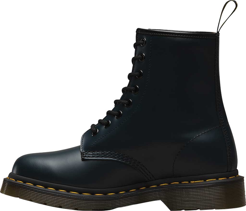 Dr. Martens 1460 8-Eye Boot, Navy/Navy Smooth Leather, large, image 3
