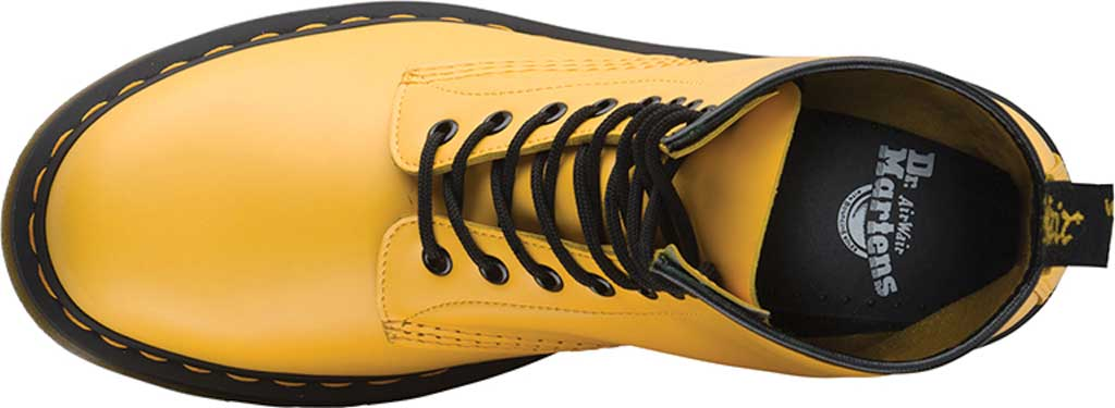 Dr. Martens 1460 8-Eye Boot, Yellow Smooth Leather, large, image 4