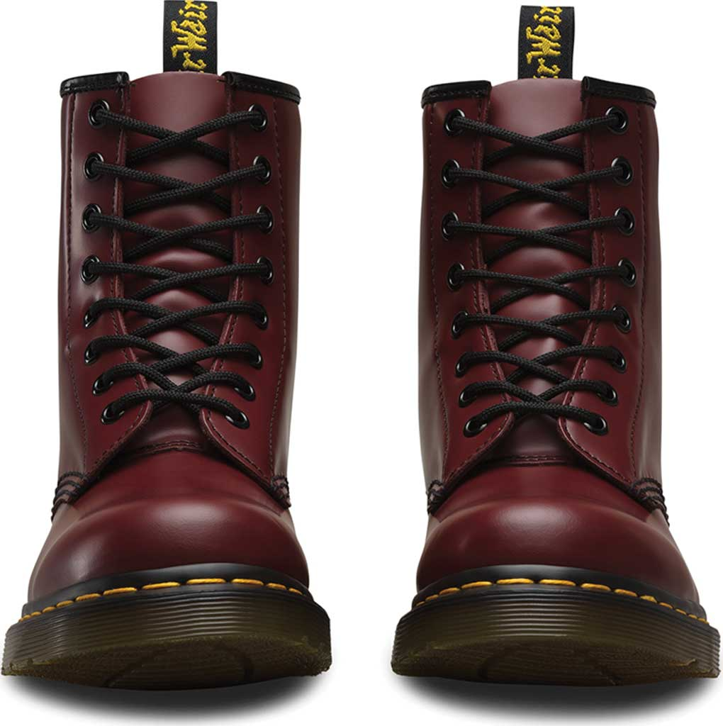 Dr. Martens 1460 8-Eye Boot, Cherry Red Smooth Leather, large, image 4