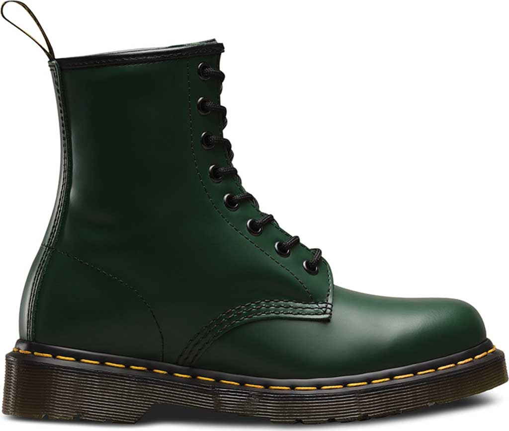 Dr. Martens 1460 8-Eye Boot, Green Smooth Leather, large, image 2