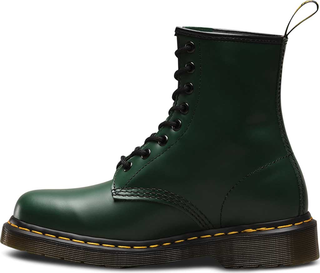 Dr. Martens 1460 8-Eye Boot, Green Smooth Leather, large, image 3