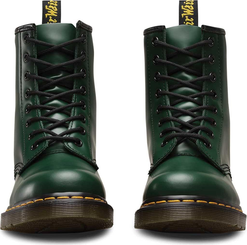 Dr. Martens 1460 8-Eye Boot, Green Smooth Leather, large, image 4