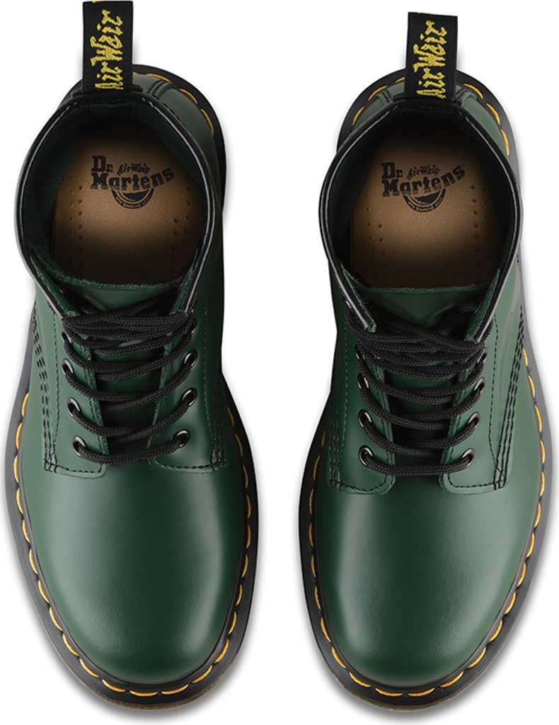 Dr. Martens 1460 8-Eye Boot, Green Smooth Leather, large, image 6
