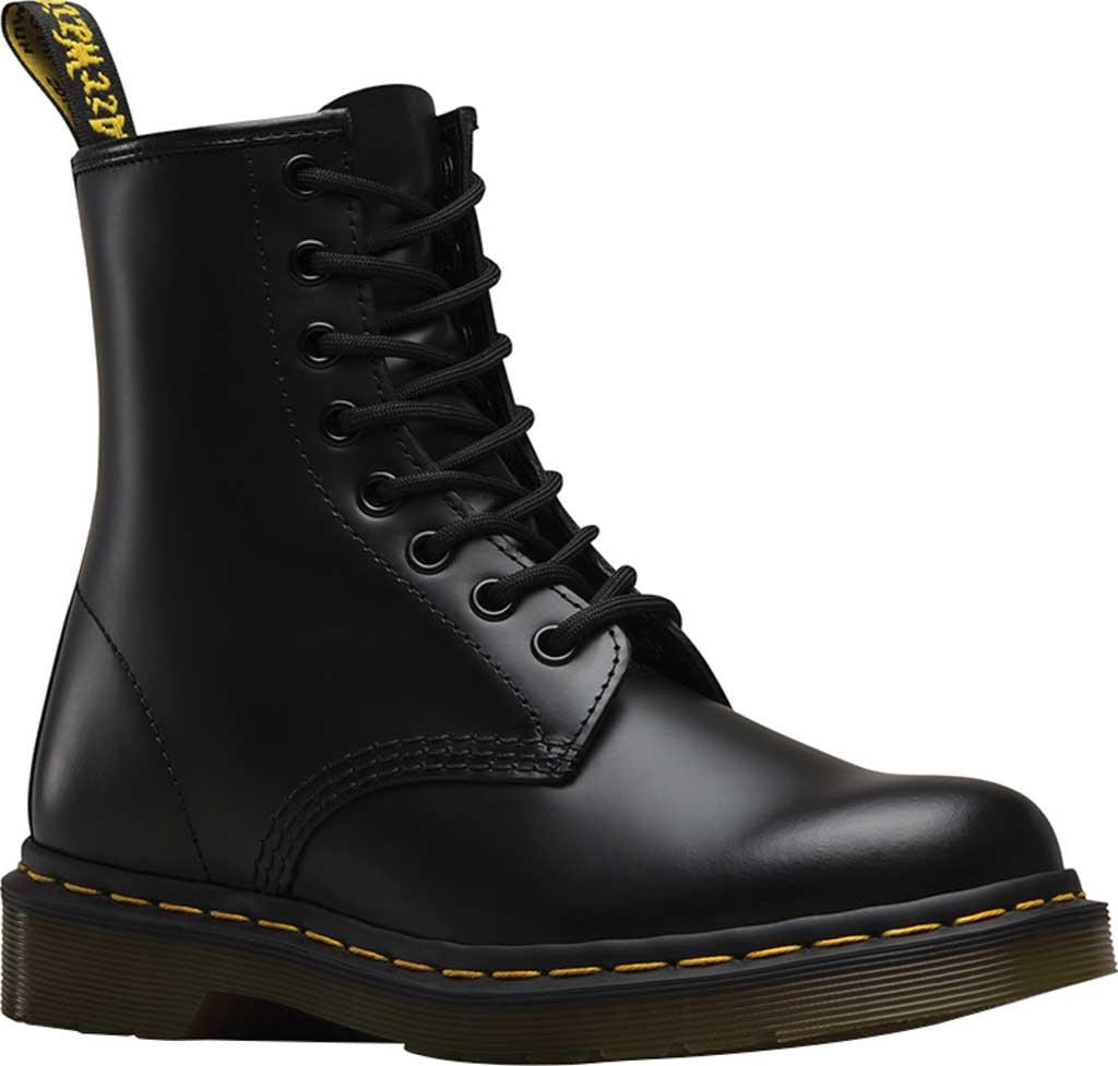 Dr. Martens 1460 8-Eye Boot, Black Smooth, large, image 1