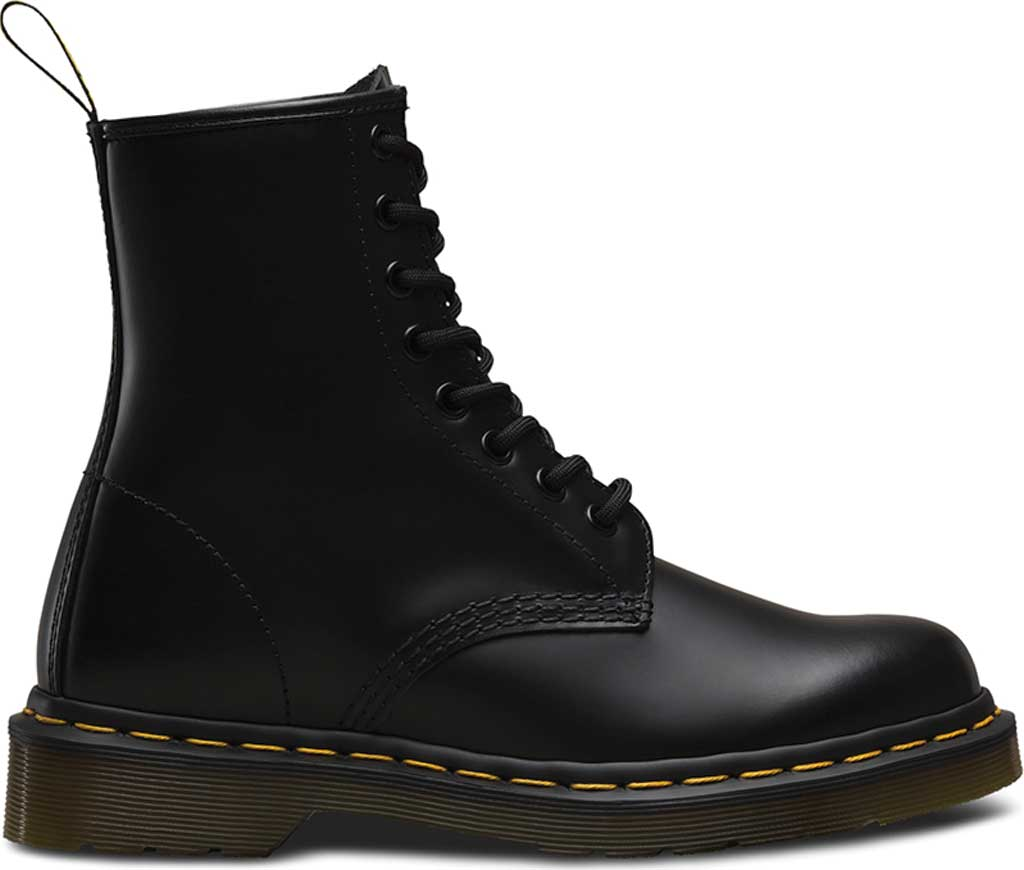Dr. Martens 1460 8-Eye Boot, Black Smooth, large, image 2