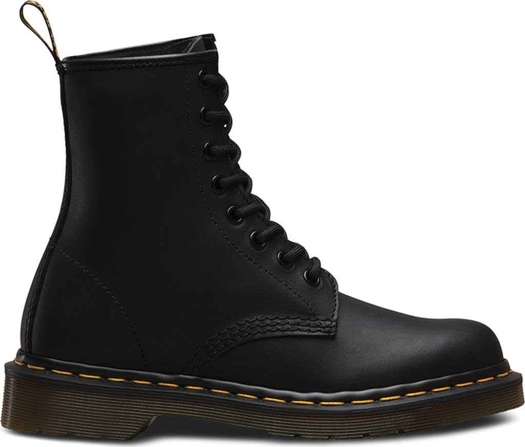 Dr. Martens 1460 8-Eye Boot, Black Greasy, large, image 2