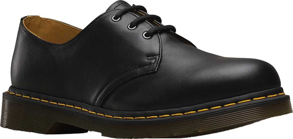 Dr. Martens 1461 3-Eye Shoe, Black Nappa, large, image 1