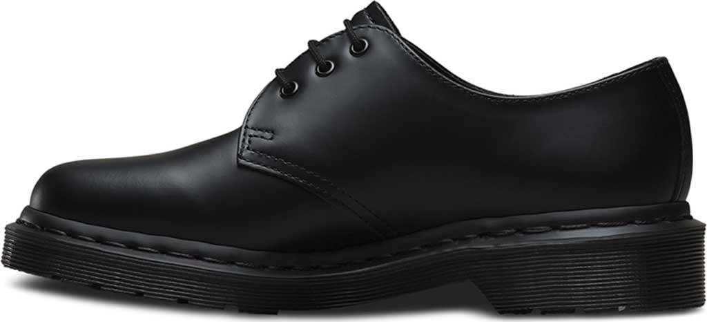 Dr. Martens 1461 3-Eye Shoe, Black Smooth Mono, large, image 2